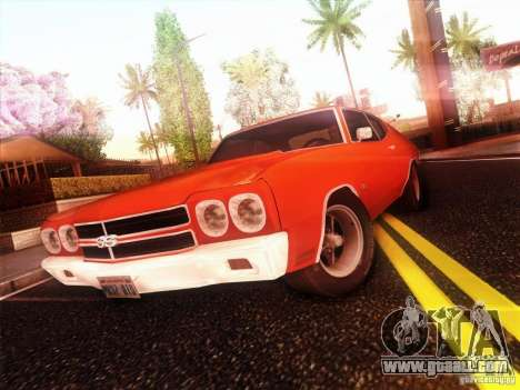 Chevy Chevelle SS 1970 for GTA San Andreas