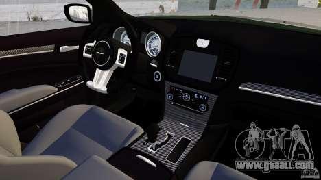 Chrysler 300 SRT8 2012 for GTA 4 side view