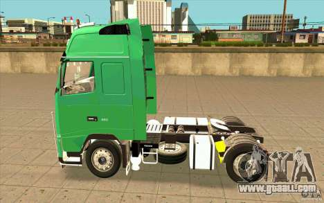 Volvo FH16 Globetrotter Officiel for GTA San Andreas left view