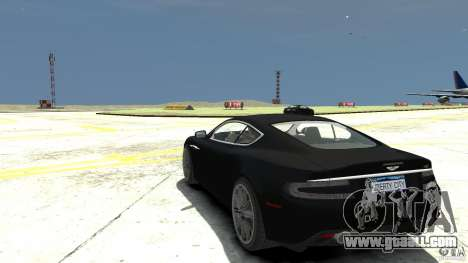 Aston Martin DBS v1.1 Without toning for GTA 4 back left view