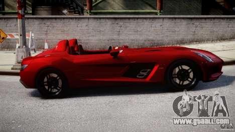 Mercedes-Benz SLR McLaren Stirling Moss [EPM] for GTA 4 inner view