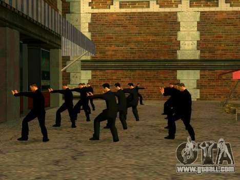 Workout Vusi for GTA San Andreas forth screenshot