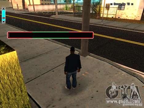 A new interface for SAMP for GTA San Andreas forth screenshot