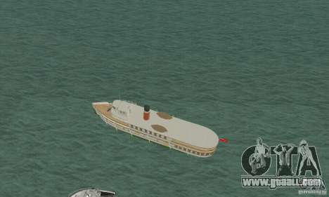 RMS Segwun Ferry for GTA San Andreas back left view