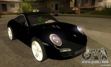 Porsche 911 Targa 4 for GTA San Andreas back view
