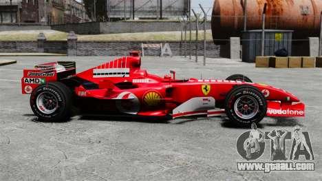 Ferrari F2005 for GTA 4
