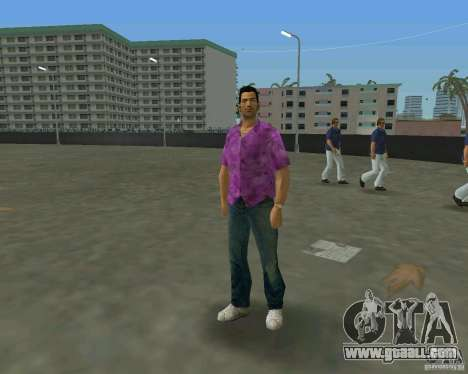 Tommy in HD + new model for GTA Vice City sixth screenshot