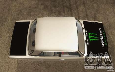 Vaz Lada 2107 Drift for GTA San Andreas right view
