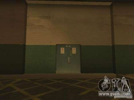 Emergency exit of the LSPD for GTA San Andreas third screenshot