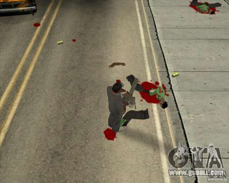 Real Ragdoll Mod Update 02.11.11 for GTA San Andreas