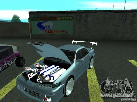 Toyota Carina ED  DRFT for GTA San Andreas back left view