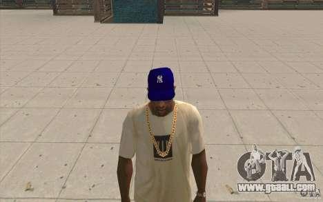Cap newyorkyankiys purple for GTA San Andreas second screenshot