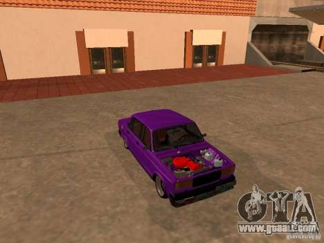 VAZ 2107 JDM for GTA San Andreas side view
