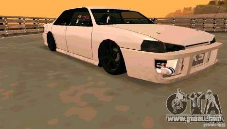 New Sultan v1.5 for GTA San Andreas