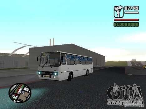 Ikarus 266 City for GTA San Andreas back view