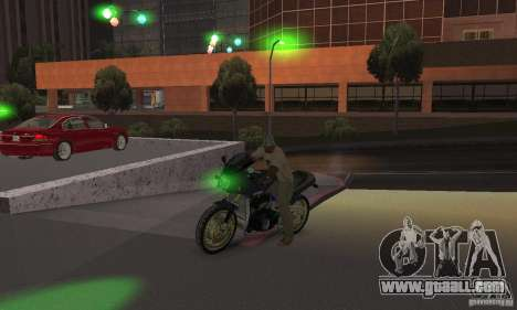 Green lights for GTA San Andreas forth screenshot