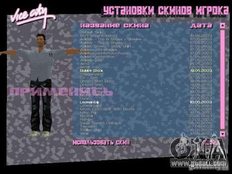 Pack of skins for Tommy for GTA Vice City forth screenshot