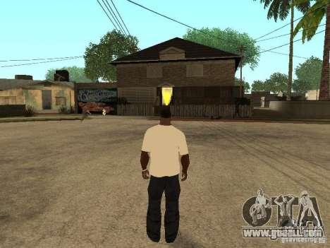T Shirt Red Bull for GTA San Andreas forth screenshot