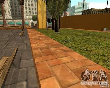 The new Central Park of Los Santos for GTA San Andreas third screenshot