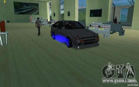 Toyota Corolla 2010 for GTA San Andreas