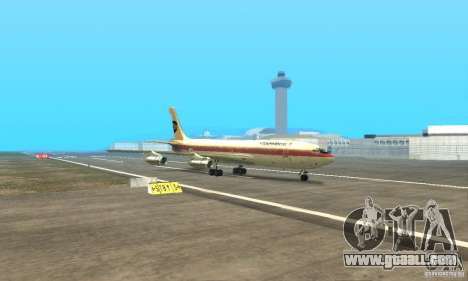 Boeing 707-300 for GTA San Andreas back view
