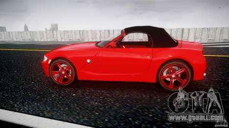 BMW Z4 Roadster 2007 i3.0 Final for GTA 4 left view