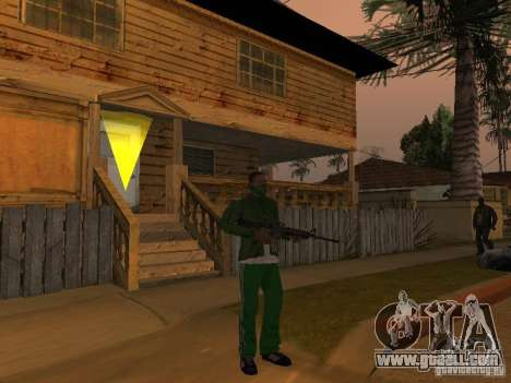 CLEO Weapons for GTA San Andreas second screenshot