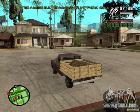 Walton HD for GTA San Andreas left view