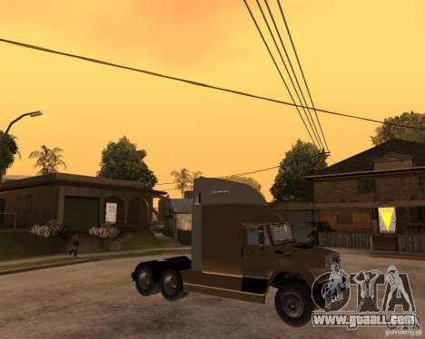 SuperZiL v. 2.0 for GTA San Andreas right view