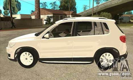 Volkswagen Tiguan 2.0 TDI 2012 for GTA San Andreas left view