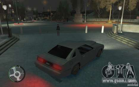 Buffalo IV for GTA 4 back left view
