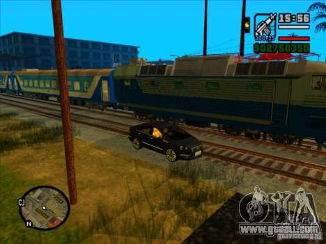 Long train for GTA San Andreas sixth screenshot