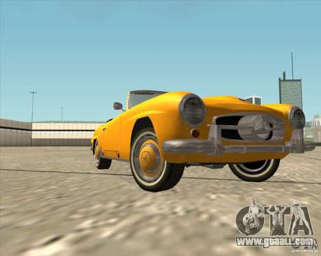 Mercedes Benz 190SL 1960 for GTA San Andreas side view