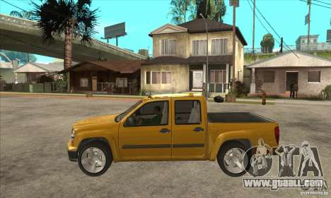 GMC Canyon 2007 for GTA San Andreas left view