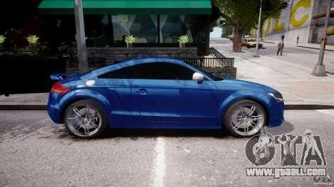 Audi TT RS Coupe v1 for GTA 4 left view