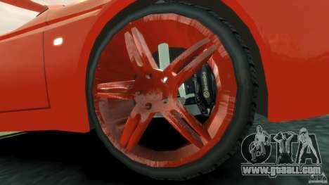 Alfa Romeo GTV Spider for GTA 4 inner view