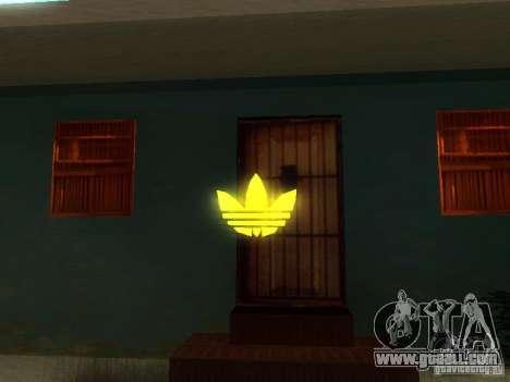 Adidas Logo for GTA San Andreas third screenshot