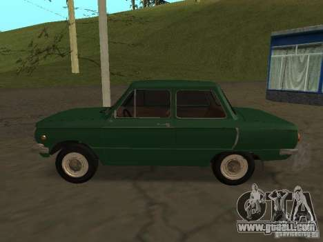 ZAZ 968 Drain for GTA San Andreas left view