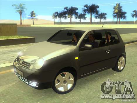 Volkswagen Lupo for GTA San Andreas left view
