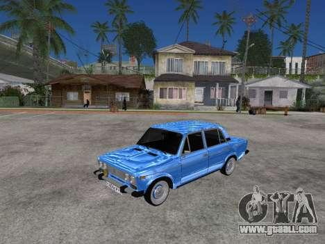 VAZ 2106 Retro V2 for GTA San Andreas left view