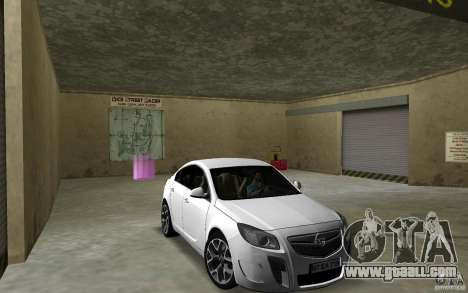 Opel Insignia for GTA Vice City back view