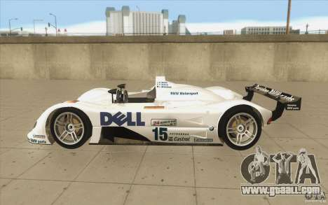 BMW V12 LeMans - Stock for GTA San Andreas left view