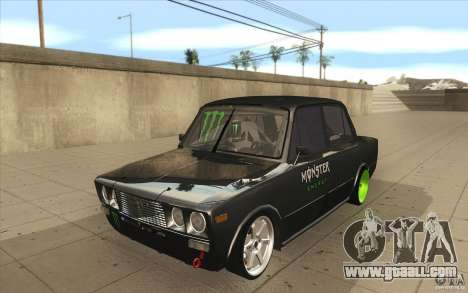 Vaz 2106 Lada Drift Tuned for GTA San Andreas