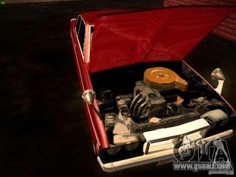 Mitsubishi Galant GTO-MR for GTA San Andreas back view