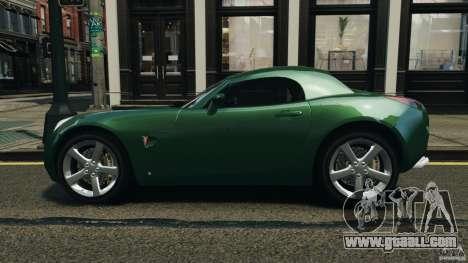 Pontiac Solstice 2009 for GTA 4 left view