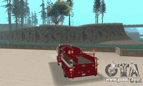 American LaFrance Pumper 1960 for GTA San Andreas left view