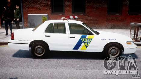 Ford Crown Victoria New Jersey State Police for GTA 4 interior