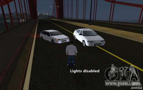 Remote lock car v3.6 for GTA San Andreas second screenshot