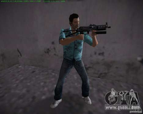 Pp-19 Bizon for GTA Vice City second screenshot
