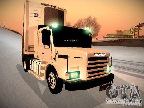 Scania T112 for GTA San Andreas